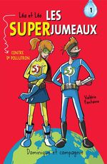 Vente EBooks : Léa et Léo - Les SUPERJUMEAUX - 1  - Valérie Fontaine