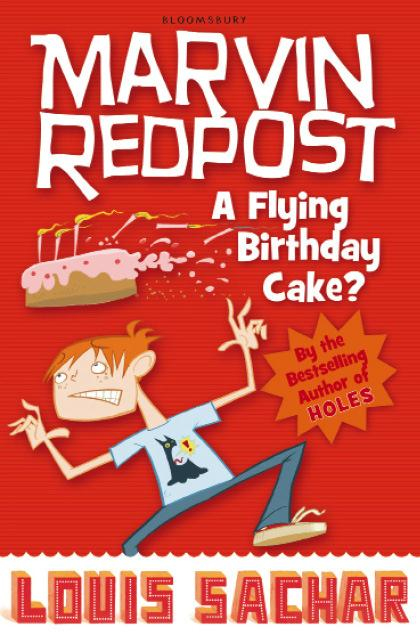Marvin Redpost: A Flying Birthday Cake?