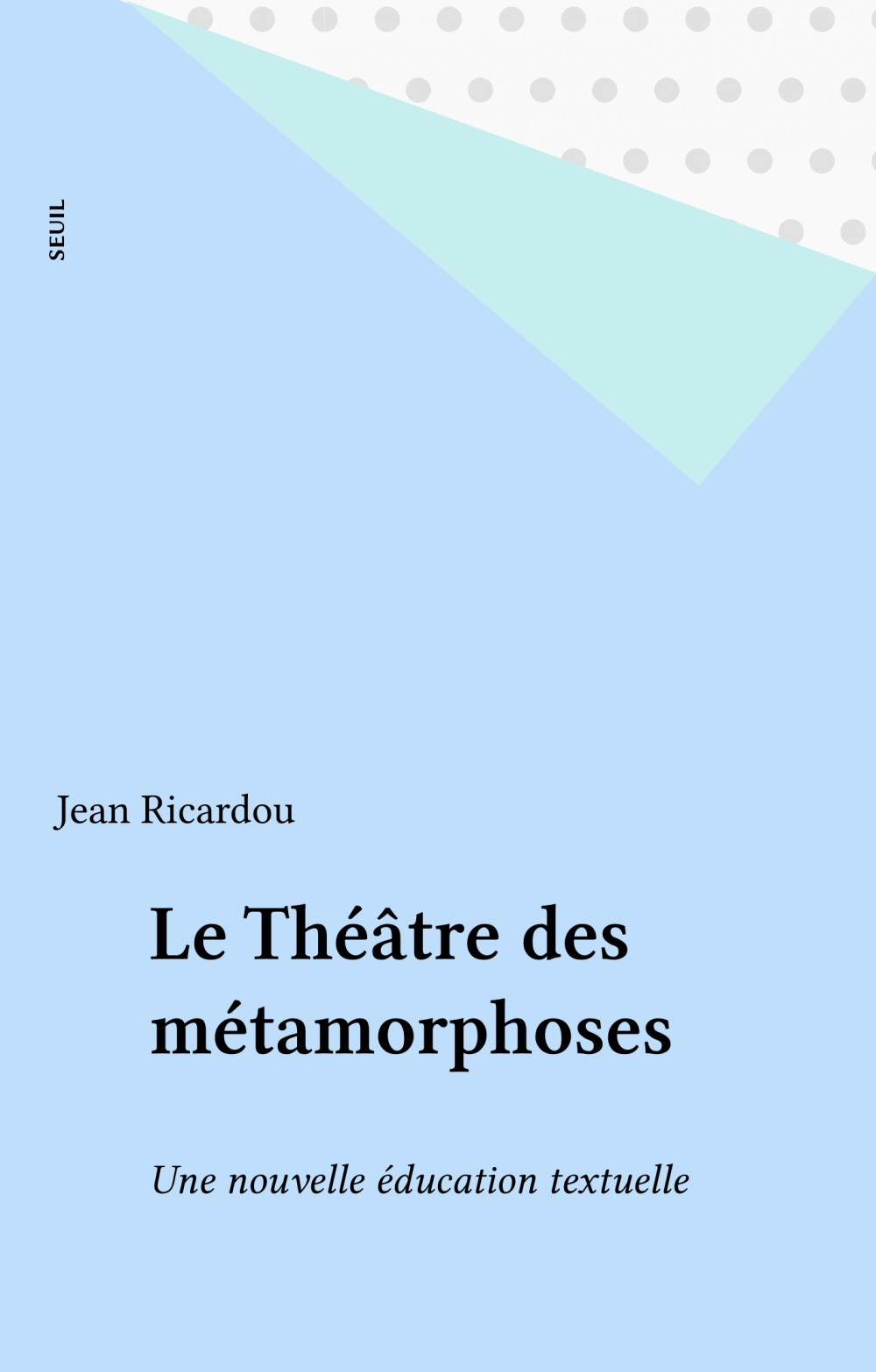 Theatre des metamorphoses. mixte (le)