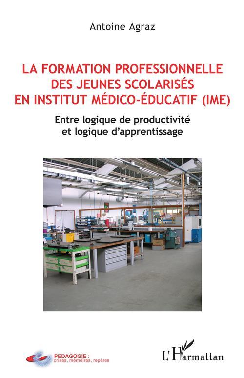 La formation professionnelle des jeunes scolarisés en institut médico-éducatif (IME) ; entre logique de productivité et logique d'apprentissage