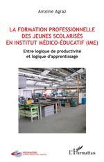 Vente EBooks : La formation professionnelle des jeunes scolarisés en istitut médico-éducatif (IME)  - Antoine Agraz