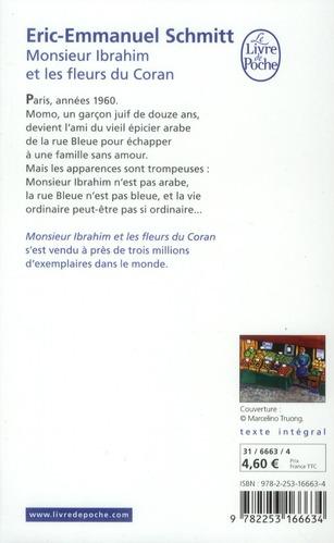 Monsieur Ibrahim Et Les Fleurs Du Coran Ebook