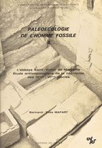 Paléoécologie de l'homme fossile (4)