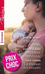 Vente EBooks : La tentation d'aimer - Un sentiment inoubliable - La maison des amants  - Gina Wilkins - Victoria Pade - Robyn Grady - Julie Cohen