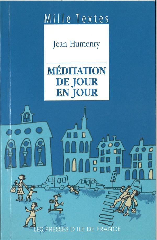 Mille textes - meditation de jour en jour