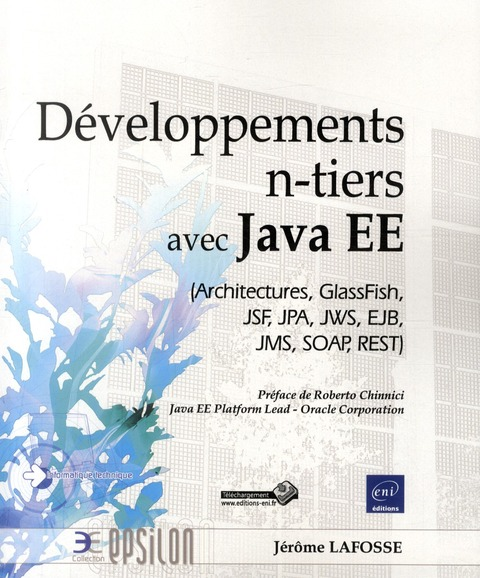 Developpement N-Tiers Avec Java Ee (Architectures, Glassfish, Jsf, Jpa, Jws, Ejb, Jms, Soap, Rest)