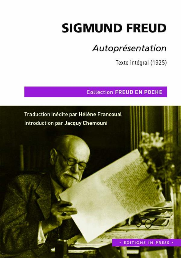AUTOPRESENTATION  -  TEXTE INTEGRAL (1925)