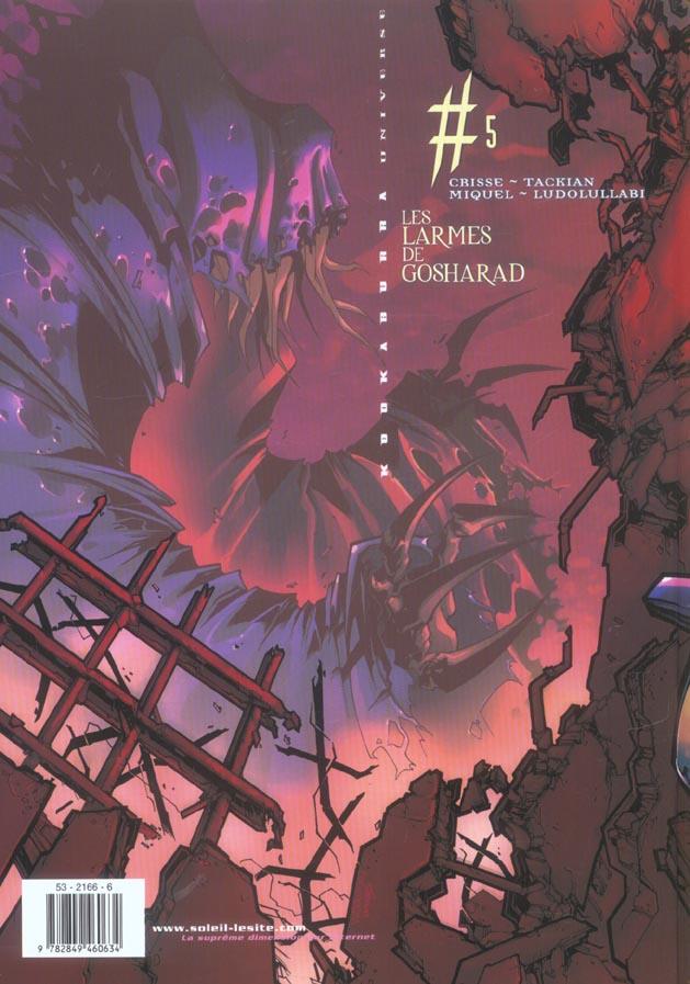 Kookaburra Universe t.5 ; les larmes de Gosharad