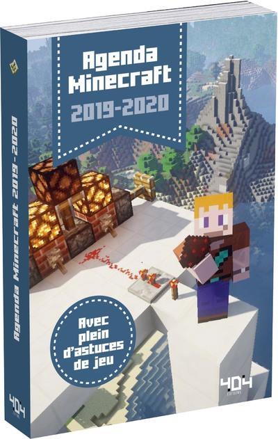 Minecraft ; agenda (édition 2019/2020)