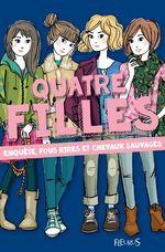 Vente Livre Numérique : Enquête, fous rires et chevaux sauvages  - Charlotte Grossetête
