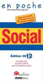 Vente Livre Numérique : Social 2012  - Dominique Grandguillot