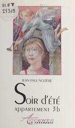 Vente Livre Numérique : Soir d'été, appartement 3B  - Jean-Paul Nozière