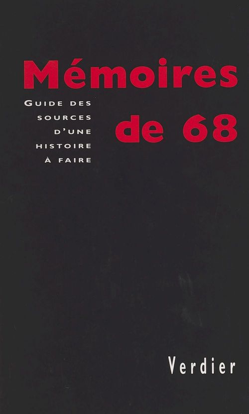 Memoire de 68