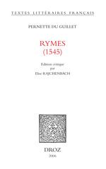 Rymes : 1545