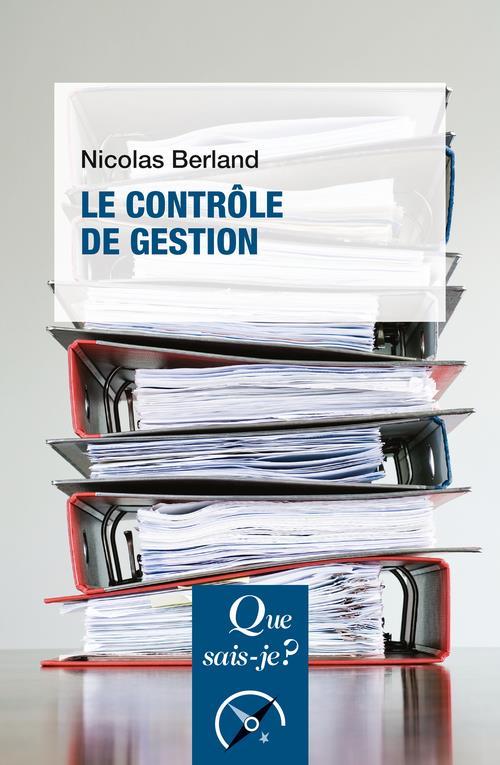 LE CONTROLE DE GESTION (2E EDITION)