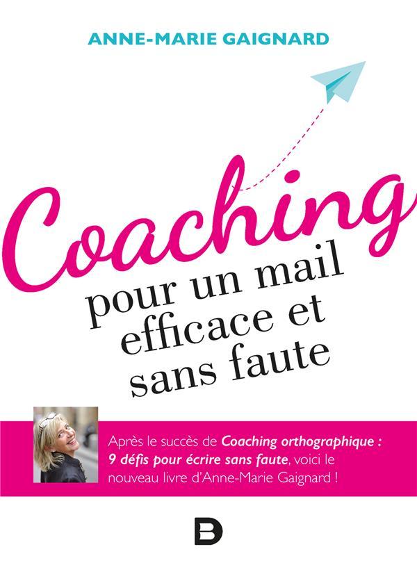 Coaching pour un mail efficace et sans faute