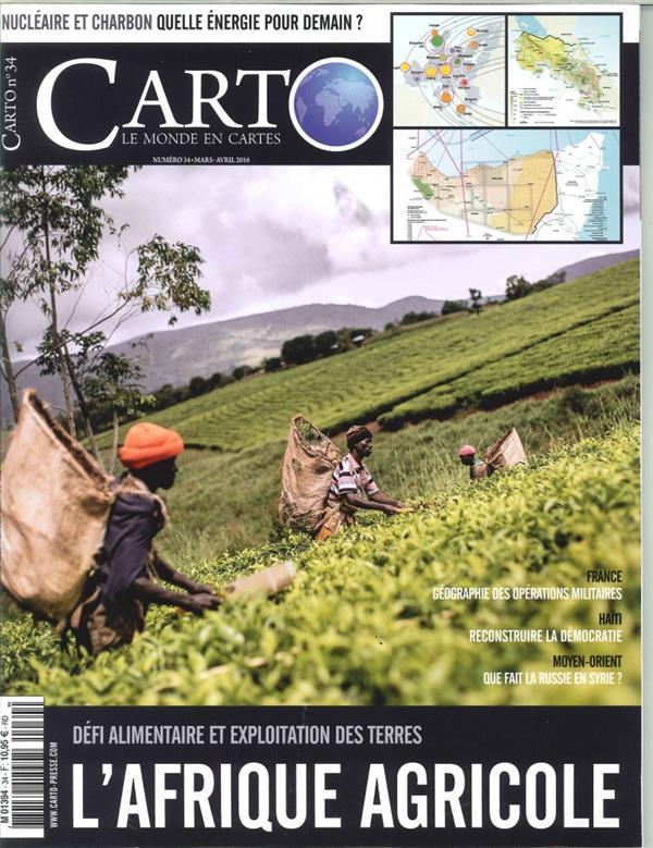 Carto n 34 l'afrique agricole mars/avril 2016