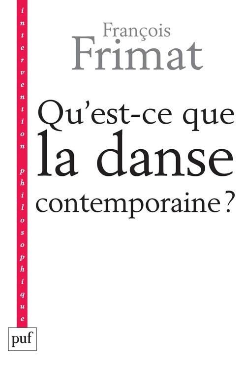 qu'est-ce que la danse contemporaine ? politique de l'hybride