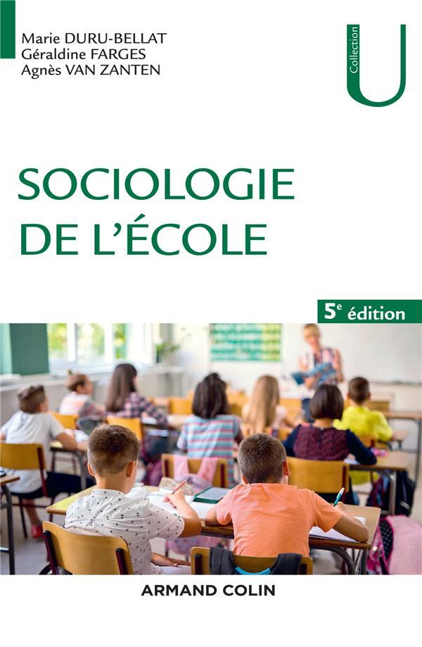 Sociologie de l'école (5e édition)