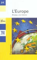 Couverture de L'europe ; 25 pays, une histoire