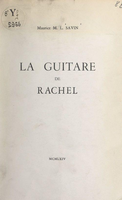 La guitare de Rachel