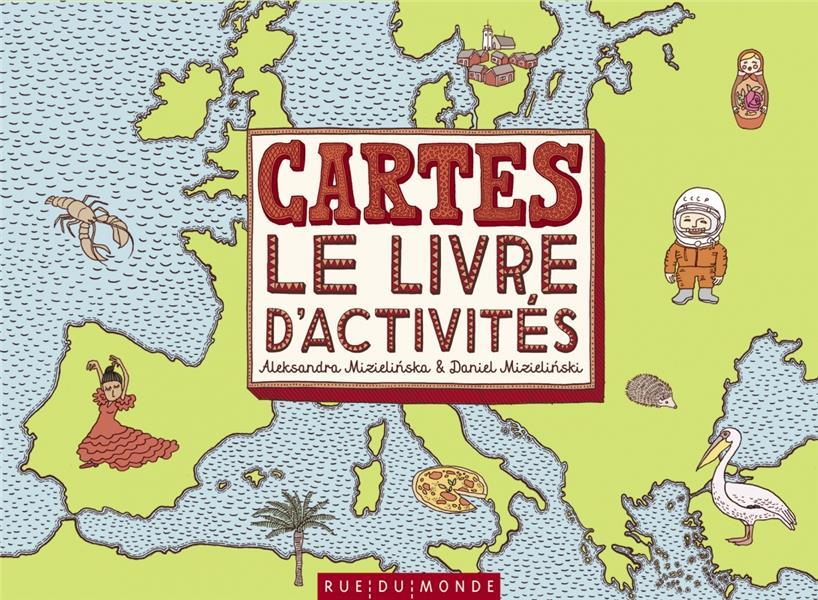 CARTES  -  LE LIVRE D'ACTIVITES