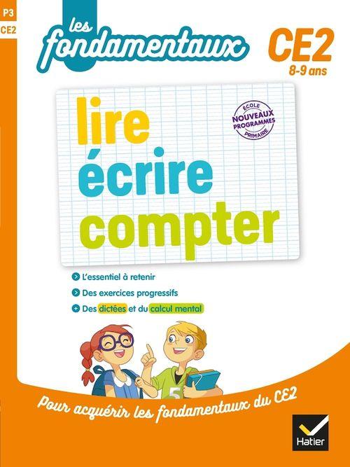 Lire, écrire, compter ; CE2
