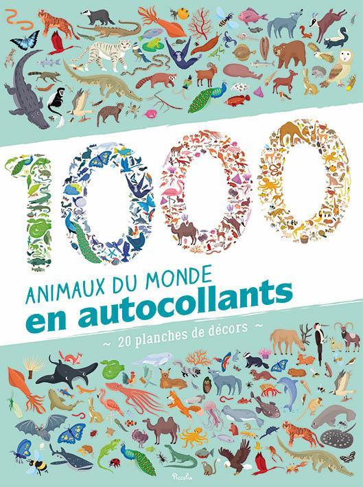 1000 Animaux Du Monde En Autocollants