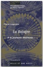 La Balafre  - Pierre Legendre