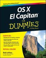 Vente Livre Numérique : OS X El Capitan For Dummies  - Bob LEVITUS