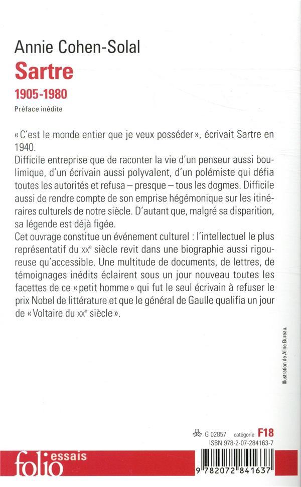Sartre ; 1905-1980