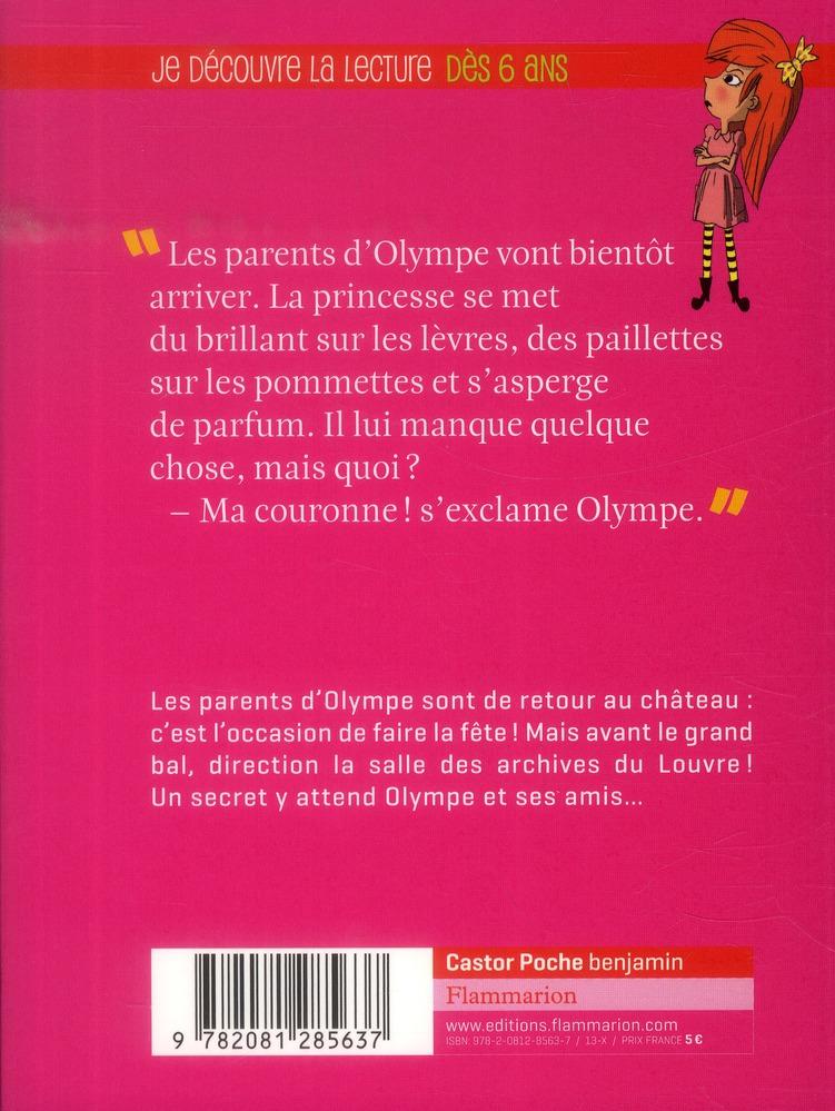 princesse olympe t.4 ; jour de bal