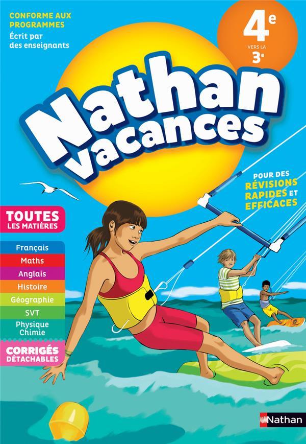 NATHAN VACANCES ; toutes les matières ; de la 4e vers la 3e (édition 2018)
