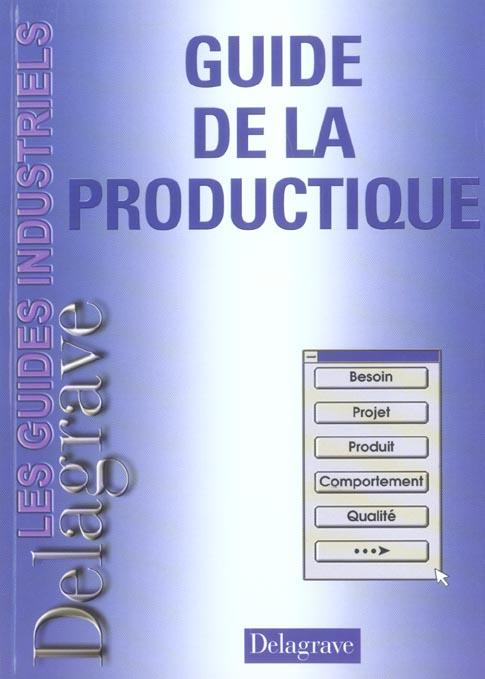 Guide De La Productique