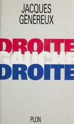 Vente Livre Numérique : Droite, gauche, droite...  - Jacques Généreux