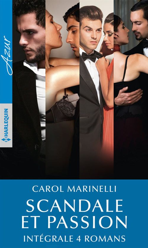 Vente Livre Numérique : Scandale et passion - Intégrale 4 romans  - Carol Marinelli