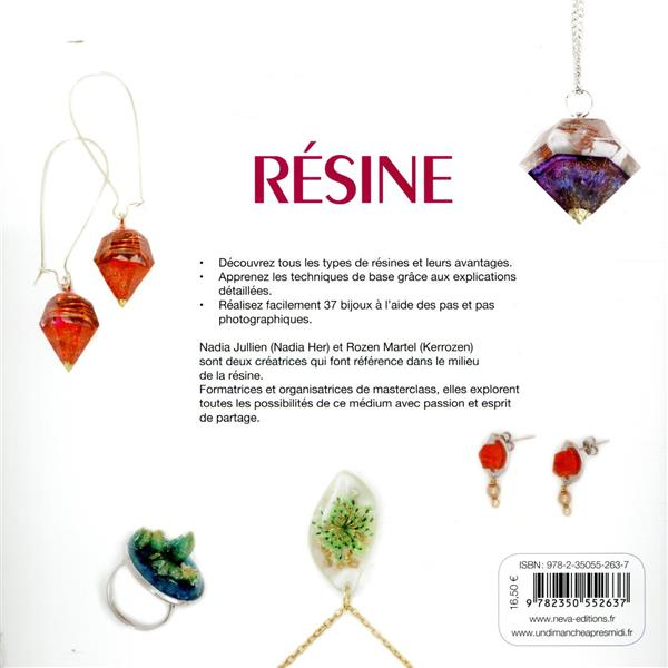 Résine, 37 bijoux fantaisie