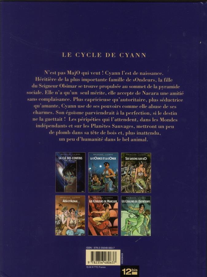 Le cycle de Cyann T.1 ; la sOurce et la sOnde
