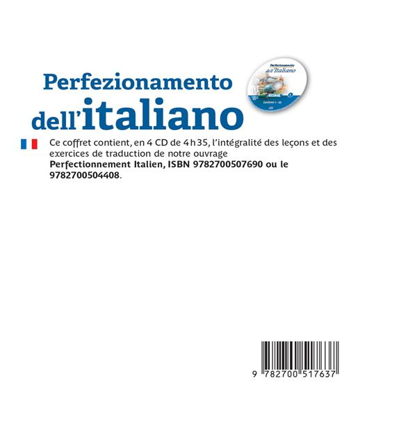 Perfezionamento dell'italiano ; B2