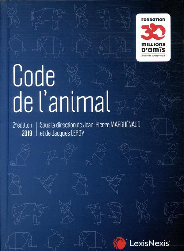 Code de l'animal (édition 2019)