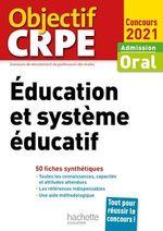 Vente Livre Numérique : Objectif CRPE en fiches : Éducation et système éducatif - Concours 2021  - Catherine Boyer - Patrick Ghrenassia - Serge Herreman