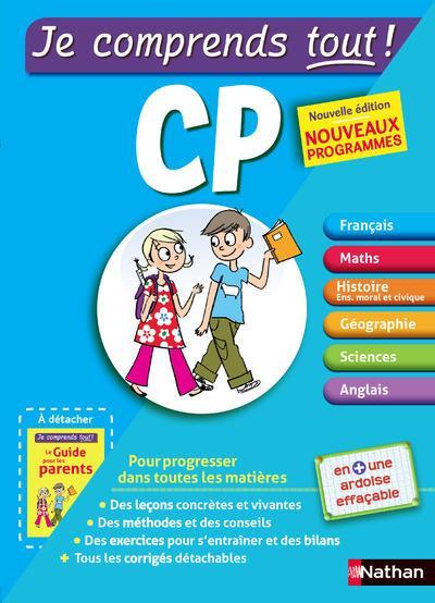Je Comprends Tout! T.1 ; Cp ; Toutes Les Matieres (Edition 2016)