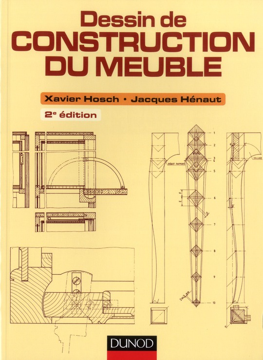 Dessin De Construction Du Meuble (2e Edition)