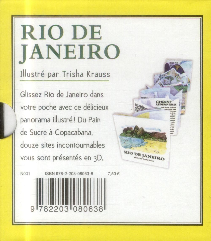 Petit pop-up panoramique t.9 ; Rio de Janeiro
