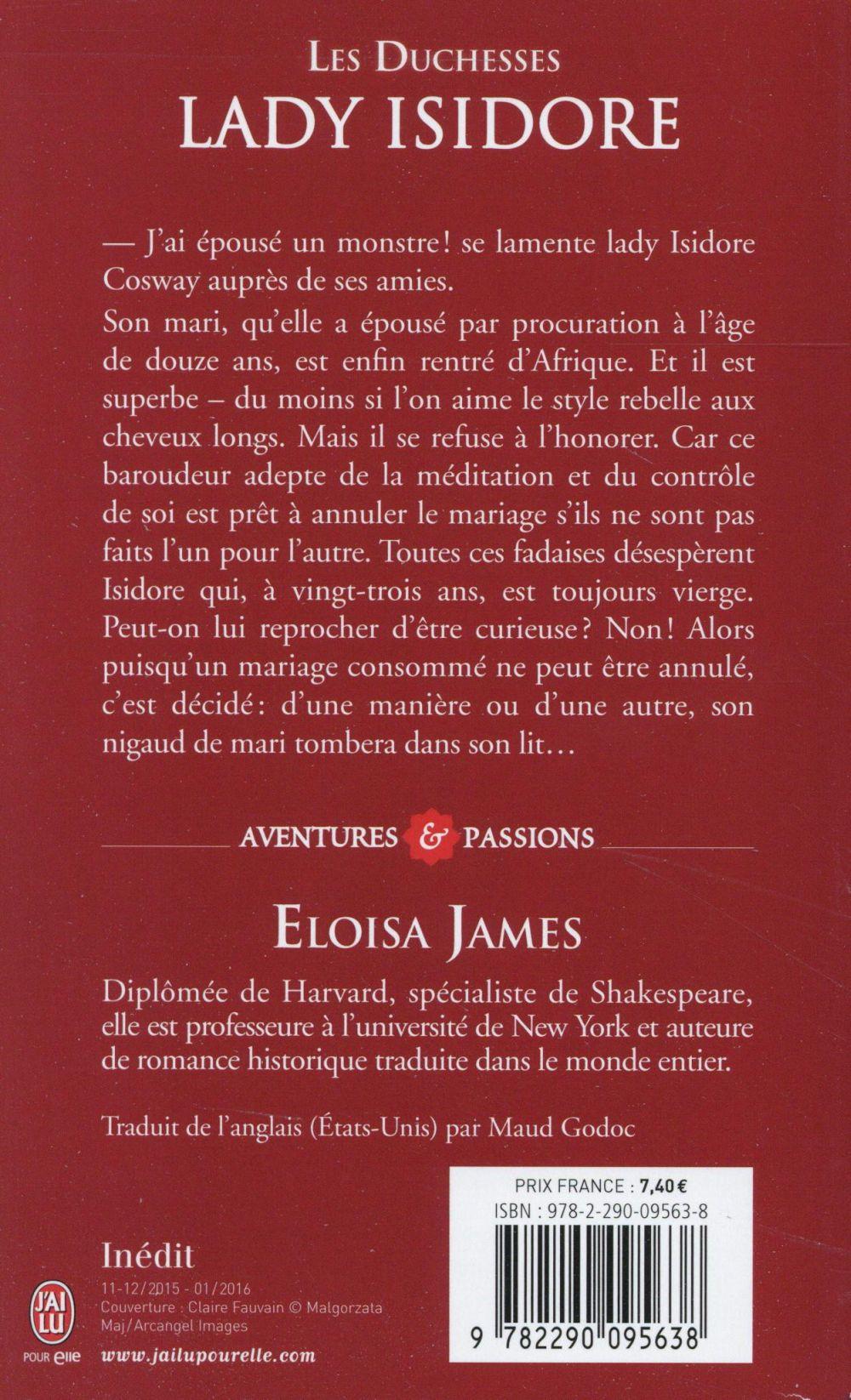 Les duchesses T.4 ; Lady Isidore