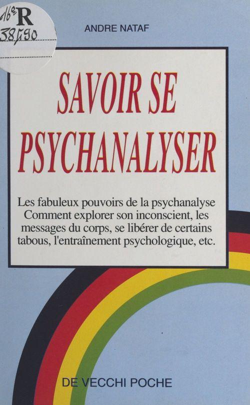 savoir se psychanalyser