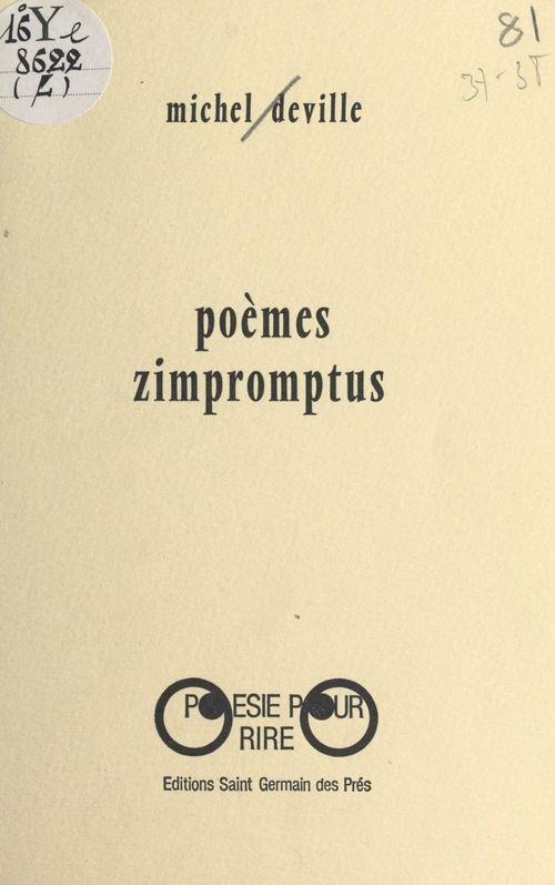 Poèmes zimpromptus