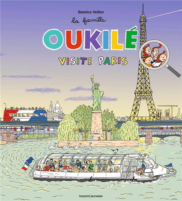LA FAMILLE OUKILE  -  VISITE PARIS