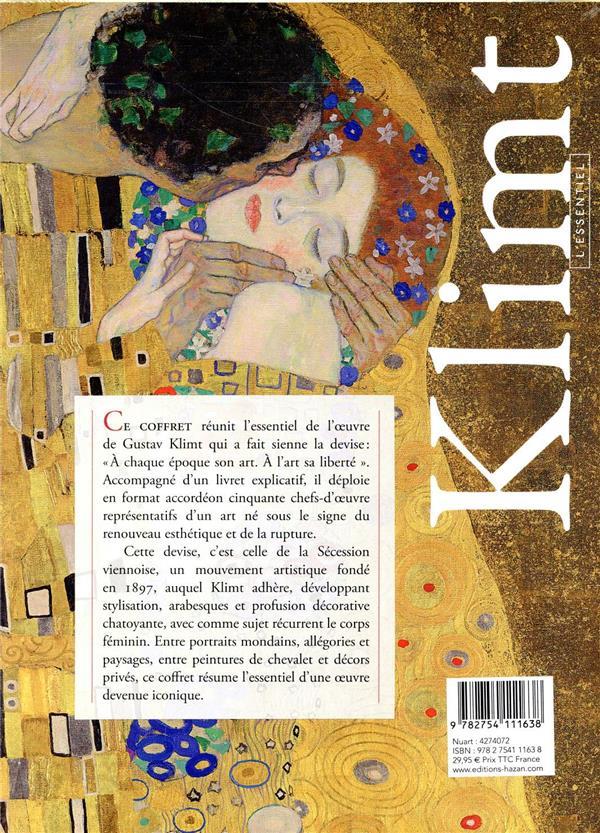 Klimt ; coffret l'essentiel