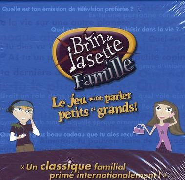 Brin de jasette famille ; le jeu qui fait parler petits et grands